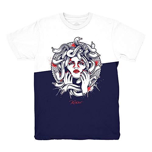 Price comparison product image Tinker 6 Medusa Split Shirt to Match Jordan 6 Tinker Sneakers (Large)