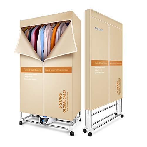 Tipo pieghevole non è necessario installare asciugabiancheria 1500W armadio riscaldante in ceramica con riscaldatore a tenuta stagna, temporizzazione silenziosa con telecomando