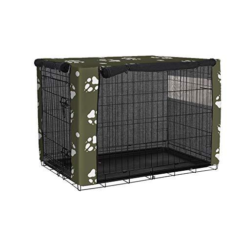 TUYU 1910FCZ0115Y14 - Funda para Jaula de Perro, Resistente al Viento, para Perros Grandes, protección Interior y Exterior para Perros, Mascotas y Animales