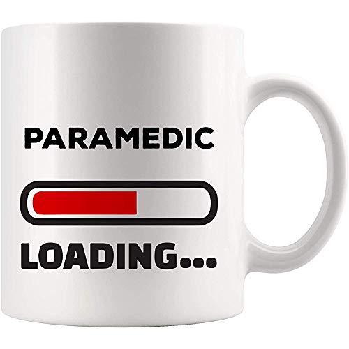 Cargando Future Paramedic Mug Best Nurse Coffee Cup Gift Graduación universitaria Estudiante Regreso a la escuela para EMS EMT Worlds