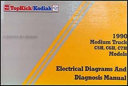 1990 Chevy Kodiak GMC Topkick Wiring Diagram Manual