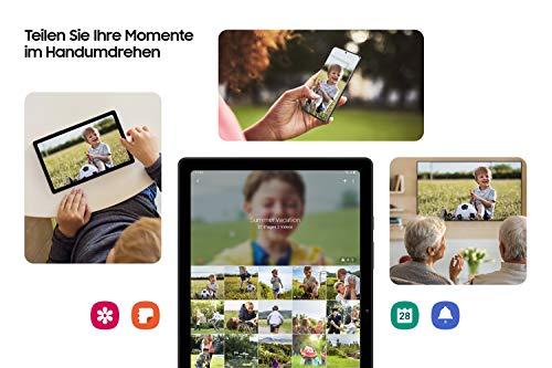 Samsung Galaxy Tab A7, Android Tablet, WiFi, 7.040 mAh Akku, 10,4 Zoll TFT Display, vier Lautsprecher, 32 GB/3 GB RAM, Tablet in Grau