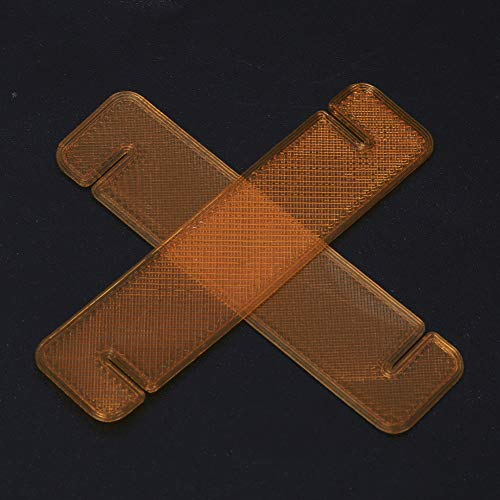 RC Propeller Stabilisator, TPU RC Drone Propellerblatthalter Stabilisator Schutzgürtel Kompatibel mit Mavic Mini Drone(Orange)