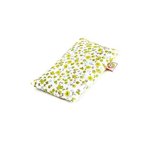 Bouillotte Bébé Anti Colique - Bouillotte Sèche Micro Onde Anti Douleur pour Enfant (15x10 cm) - Coussin Chauffant pour Bébé - Housse Lavable, 100% Coton et Odeur de Lavande