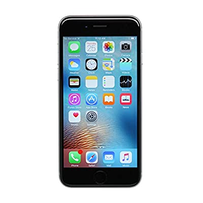 Apple iPhone 6S Plus, 64GB, Space Gray - Fully Unlocked (Renewed) from Apple Computer