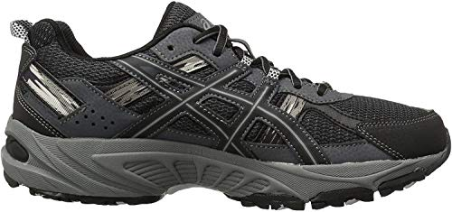 ASICS Men's Gel-Venture 5-M, Black/Onyx/Charcoal, 9.5 M US