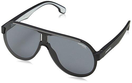 CARRERA 1008//S 0003//IR Safilo Group Carrera Unisex Carrera 1008//S Matte Black White 99 mm Carrera Sunglasses