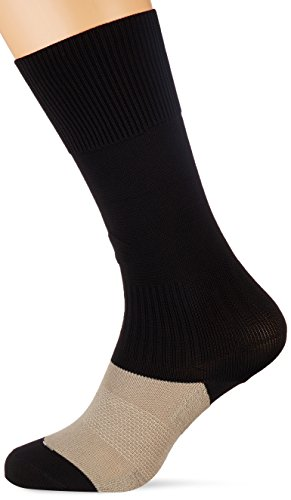 Lotto Herren Logo Long Training Socken – Schwarz/Schwarz, Gr. 3