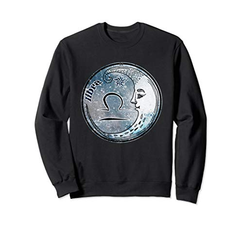 Waage Mondzeichen Astrologie Sternzeichen Libra Sweatshirt
