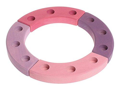 Grimms Spiel Und Holz Design Grimm's Geburtstagsring 12 Jahre, rosa-violett
