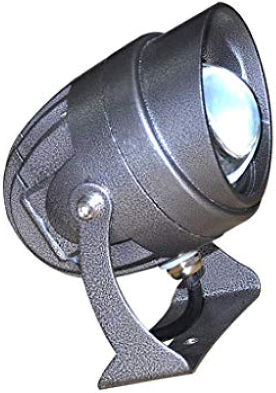 XEX LED Strahler Mit, Wasserdichtes Sicherheitslicht Gebudeauenwandbeleuchtung, Scheinwerfer Landschaftslicht Auenlicht (Farbe   Blau Light)