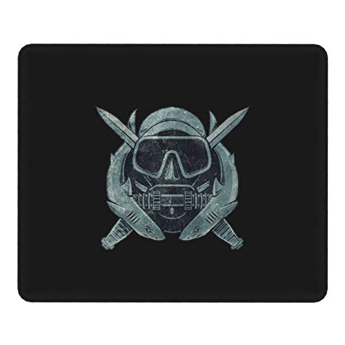 Us Combat Diver Vintage Insignia Mouse Pad Office Mouse Pad Gaming Mouse Pad 9.8inx11.8in Size