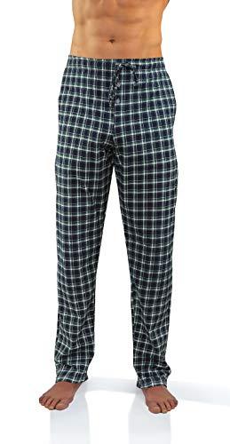 Sesto Senso Pantaloni Pigiama Uomo Lunghi Cotone Cotone Quadri Confezione da 1 o 2 Pezzi Pjama Scachi L 8