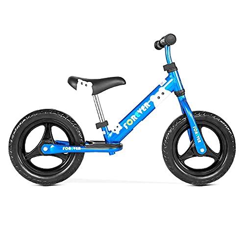 YMDA Balance Bike, Anodized Aluminum Frame, PU Foam Pad Height Adjustable, TPR Environmentally Friendly Grip, Fish Scale Welding Pedal
