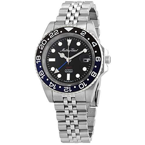 Mathey-Tissot GMT Automatic Batman Bezel Men's Watch H903ATNB