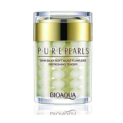 AJUMKER Pure Pearl Cream Face Sleep Mask Facial Care Essence Hyaluronic Acid Cream Moisturizing Skin Care Whitening Cream Mask Anti Wrinkle Cream 120g