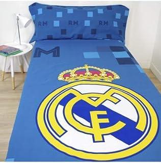 10XDIEZ Juego de sabanas Real Madrid 181040 - Medidas sabanas - 90
