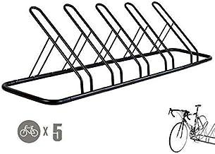 1-5 Bike Floor Parking Rack Storage Stand Bicycle