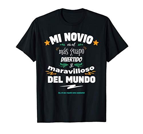 Novio Guapo Divertido y Maravilloso Para Su Novia o Novio Camiseta