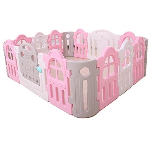 Zhao Kriechen Sie Kleinkind-Leitschiene, Baby-Spiel-Zaun-Baby-Sicherheits-Zaun-jähriges altes Spielzeug-Kind-Spielzeug-Raum-Spielplatz-Kindertagesgeschenk 30-80CM (Farbe : B)