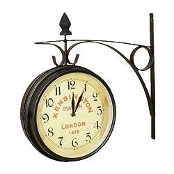 Nostalgic Kensington Station Double Side Clock (Large)