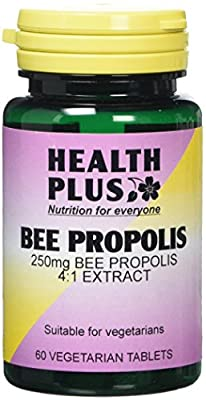 Health Plus Bee Propolis 1000mg Antioxidant and Energy Supplement - 60 Tablets from Health + Plus Ltd