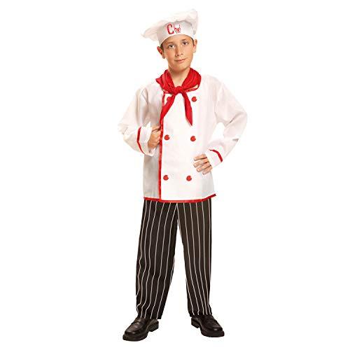 My Other Me Me-200956 Disfraz de cocinero para niño, 3-4 años (Viving Costumes 200956)