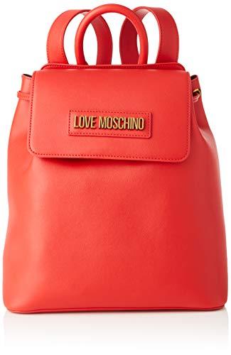 Love Moschino Jc4265pp0a, Zaino Donna, Rosso (Red), 15x27x29 cm (W x H x L)
