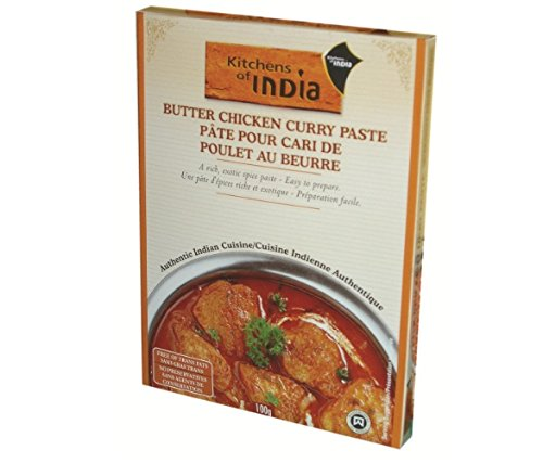 Kitchens Of India Paste for Butter Chicken Curry, 3.5 Ounce
