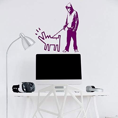 miaoqiushiyi Elige Tu Arma Vinilo Adhesivo De Pared Paquete De Perro Arte Crítico Hit Teen Decor Teenager Gamer Decal Boy Walking Decals Murales