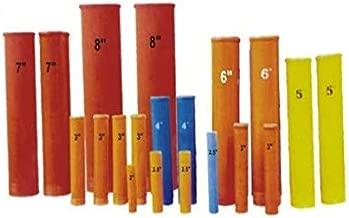 Fireworks Fiberglass Baseless Mortars Ugly Tubes 1.75