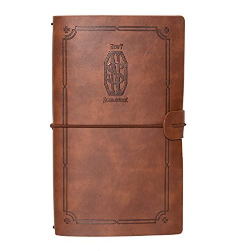 Grupo Erik Reisetagebuch zum Selberschreiben Newt Scamander - Dotted Notebook A5 Phantastische Tierwesen und wo sie zu finden sind - Dotted Notebook A5 - Tagebuch A5