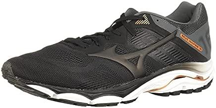Mizuno Men's Wave Inspire 16 Road Running Shoe, Black, 9.5 D US