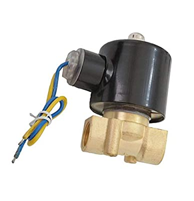 3/8 Inch Electric Solenoid Valve 24V DC Air Water Fuel Gas Diesel Normally Closed NPT from XSPANDER