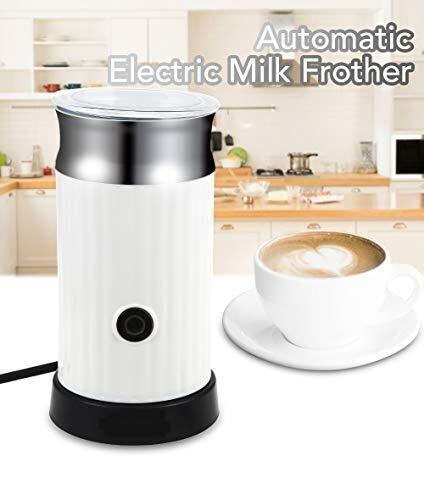 ZHDWM Elektrische Kaffeekanne Kaffeemaschine Automatische Milchaufschäumer Milchaufschäumer Heizung Aufschäumen Heiße Milch Kalt Sekt New Manuelles Kaffeemaschine