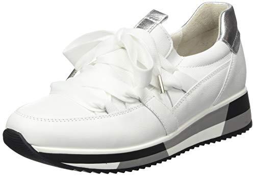 Gabor Shoes Damen Jollys' Sneaker, Weiß (Weiss/Silber 21), 38.5 EU