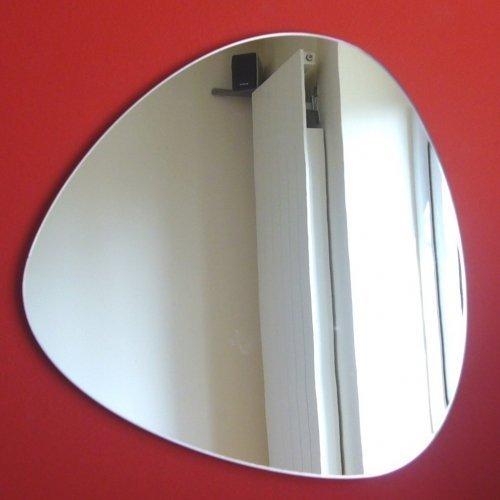 Super Cool Creations Pebble Spiegel–Dreieckig Pebble–32cm x 31cm