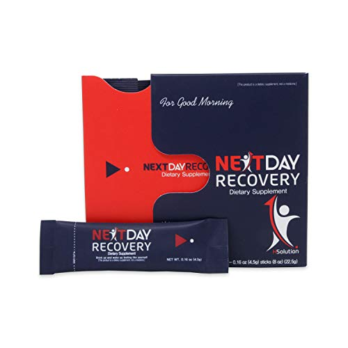 Next Day Recovery Hangover Aid - All Natural Hangover Prevention Supplement - Smart Anti Hangover Remedy for Liver Support - Complete Recovery Drink After Alcohol Aid for Hangovers (5)