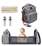 P&E Baby Diaper Bag Backpack with Changing...