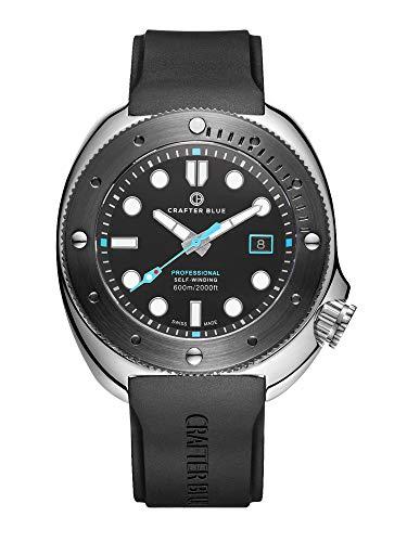 CRAFTER BLUE Hyperion Ocean 600M Reloj automático para hombre hecho en Suiza