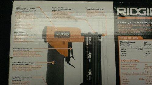 Ridgid 23 Gauge Pinner Nail Gun R138HPA