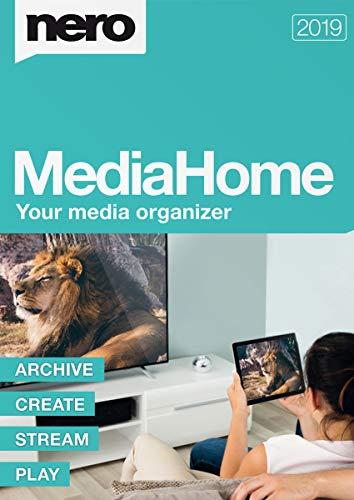 Nero MediaHome 2019   PC   Code d activation PC - envoi par email