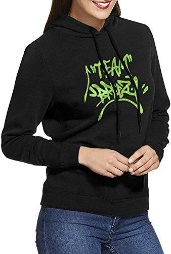 Chris Brown Womens Long-Sleeve Lightweight Hoodie Shirt Sweatshirt Rundhalsausschnitt