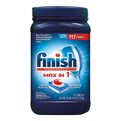lavavajillas detergente fabricante Finish