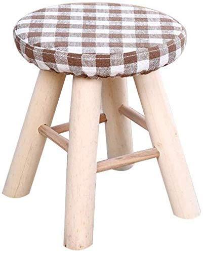 ZFFSC - Taburete creativo de madera maciza taburete de cambiador de zapatos taburete, taburete, salón, porche, taburete