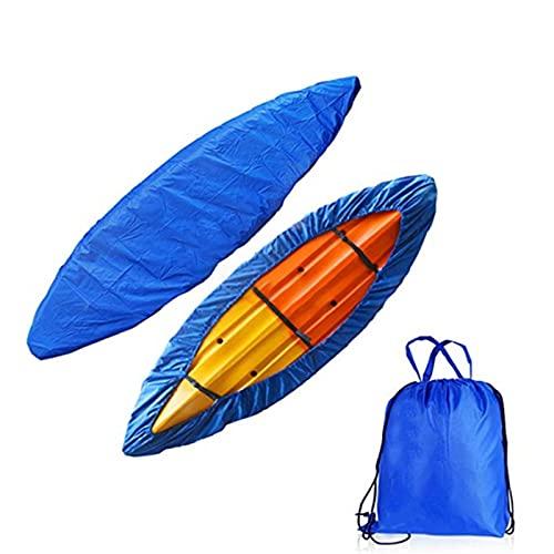 NWYJR Cubierta impermeable para barco, tela Oxford 420d, 7-12 pies – 8 tamaños, se adapta a casco en V de tres cascos, esquí de pesca de estilo profesional (color: 16-18 pies)