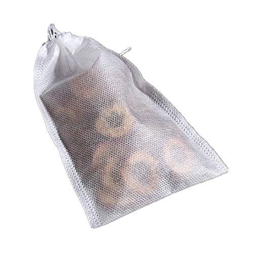 TamBee 200 Pack Disposable Tea Filter Bags Tea infusers 4' x 6' Empty Muslin Drawstring Seal Filter Tea Bags Drawstring Herb Loose Tea bag(4' x 6' /10 x 15cm)