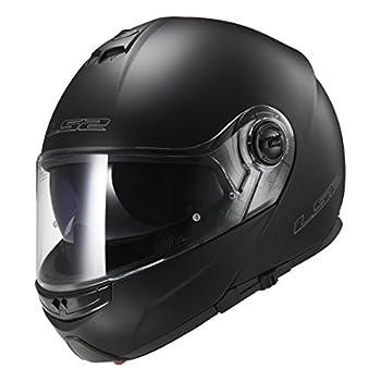LS2 Helmets Modular Strobe Helmet  Matte Black - XXX-Large