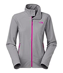 The North Face Women's Calentito 2 Jacket Mid Grey/Luminous Pink X-Small