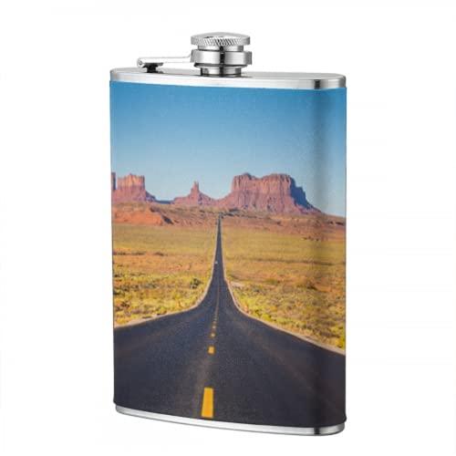 Borraccia da 8 once Viste incredibili del Grand Canyon Arizona Fiaschetta per uomo Flacone per uomo Donna Borraccia personalizzata per viaggi Escursionismo Campeggio